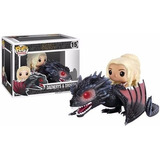 Toy Funko Pop! Rides Game Of Thrones - Drogon & Daenerys