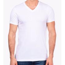 Camisetas 100% Poliéster Gola V Sublimação Estampar Atacado