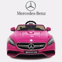 Carrito Electrico Mercedes Benz S63 Amg Control Remoto Mp3
