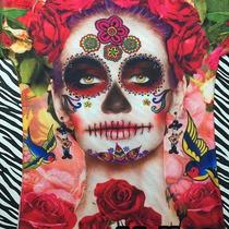 Playeras Y Blusas Estampadas - Día De Muertos Halloween Moda