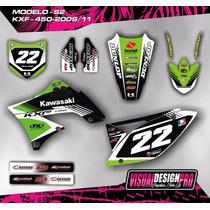 Kit Calcos - Gráfica Kawasaki Kxf 450 - 2009/11 Gruesos!!!