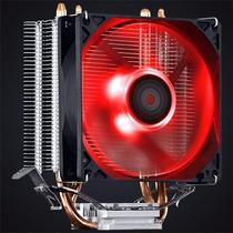 Cooler Intel Amd Zero K Z2 Fan 92 Mm Led Red Pcyes Lga 100w