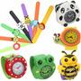 Reloj Figura Animalitos Para Niños Silicona Fashion