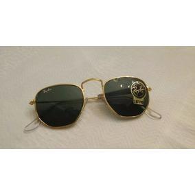 Óculos Ray Ban Hexagonal Vintage Lentes Bausch & Lomb