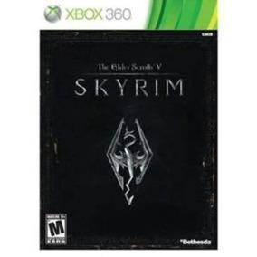 The Elder Scrolls Skyrim 5 I Código 25 Dígitos I Xbox 360