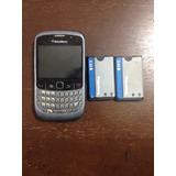 Blackberry 8520 Usado Para Partes Con Dos Baterías Pilas