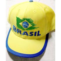 Boné Brasil Oficial Copa Do Mundo De 98 França Fifa Futebol