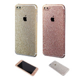 Adesivo Iphone 7, 7 Plus Cobertura 100% Com Glitter