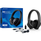 Audífonos Ps4 Sony Gold Wireless Headset Ps4, Nueva Version