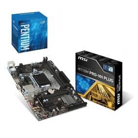 Kit- Processador Pentium G4560 + Placa Mãe H110m Pro Vh Plus