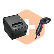 Kit Impressora Pdv Elgin I9 Usb + Leitor De Codigo De Barras