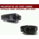 Proyector Luz Led 2000 Lumens