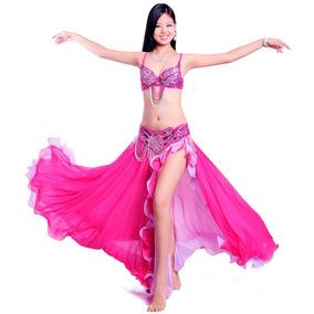Hermoso Vestuario Profesional Para Danza Arabe Bellydance
