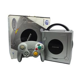 Console Nintendo Gamecube Prata Limited Edition Nintendo