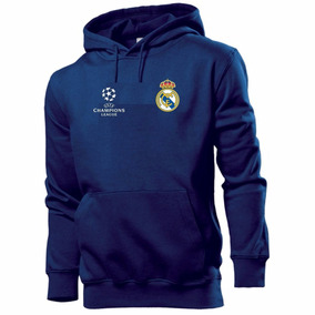 Blusa Moleton Real Madrid Futebol Champions Mod 159