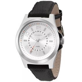 Relógios Technos Masculino Original Pulseira Couro 2035mfa0k