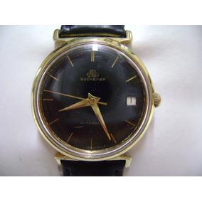 Reloj Bucherer Original Automático Suizo Vintage