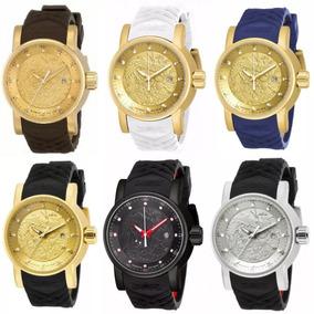 cc7dac8bfdc Vermelha E Preta. - Relógio Invicta Masculino no Mercado Livre Brasil