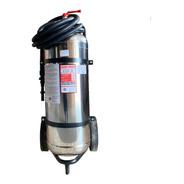 Extintor Profesional Cold Fire 50 Litros Plateado Con Carro