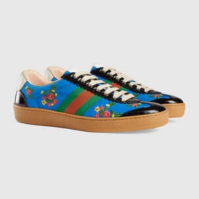 Zapatillas Gucci G74 Nylon Sneaker 100% Auténticas 2018