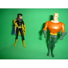 Batgirl E Aquaman Liga Da Justiça Unlimited Jlu