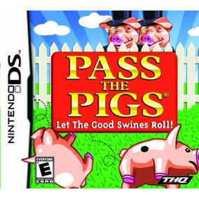 Jogo Nintendo Ds Pass The Pigs Original Lacrado Mídia Física