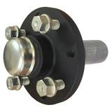 Cubo De Roda Com Eixo Para Reboque / Carretinha - Multifuros