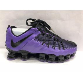 ff7b52e645 Tenis Masculino Nike Shox Tamanho 40 - Tênis Violeta no Mercado ...