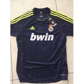 Jersey Real Madrid 2013 Autografiado Por Cr7 Y Kaká Con Coa 34d9a1943688c