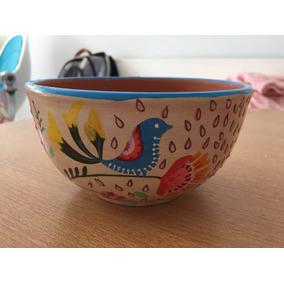 Divinas Cazuelas Cuencos Bowls De Barro Pintados A Mano