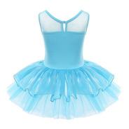 Roupa Infantil Bailarina Saia Tutu Rosa Com Paetês Para Balé