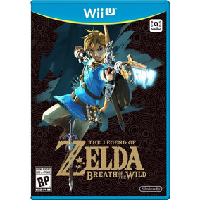 Zelda Breath Of The Wild - Wii U - Digital - Pronta Entrega