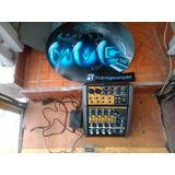 Mezcladora Tapco Mackie Blend 6 Canales
