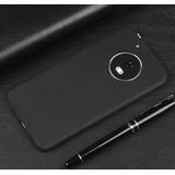 Capa Ultra Fina Escovado Moto G5 Plus Xt1683+pelicula Vidro