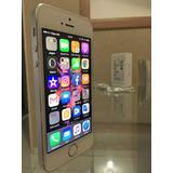 Iphone 5s Prata 32gb Com Todos Os Acessórios E Nota Fiscal