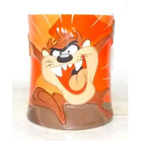 Caneca De Café Taz Warner Bros Personagens Looney Tunes