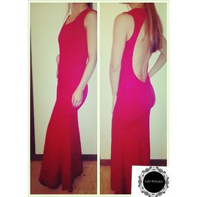 Vestido En Encaje Rojo