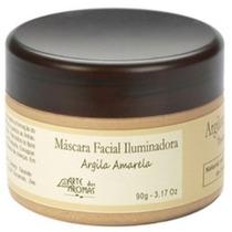Máscara Facial Iluminadora Argila Amarela 90g Natural