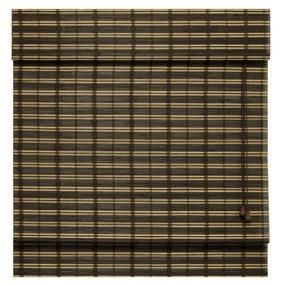Persiana Romana Em Bambu 1,00l X 2,20a