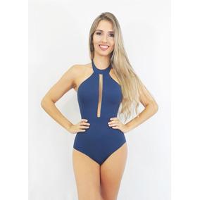 Body Maiô Feminino Classe A - Decote Tule - Verão 2018