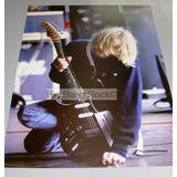 Poster Nirvana Guitarra Tamaño 35 X 60 Cm ( Big Bang Rock )