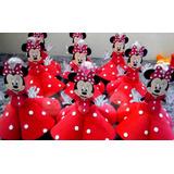 Tubetes Minnie Mickey Lembrancinha Vestido Em Eva 20uni