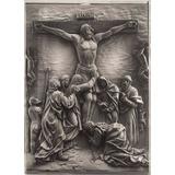 Quadro De Mesa 3d Jesus Paixão De Cristo Com Suporte Madeira