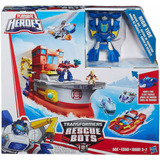 Transformer Rescue Bots High Tide Barco Rescate Ship Origina