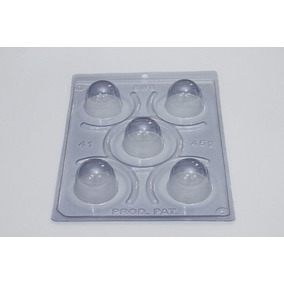 Kit 4 Formas Trufas N. 41 Com Silicone Mais 8 Pc.embalagens