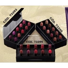 Batons Rosas E Roxos Eudora Mini Kit Com 10 Cores