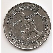 Paraguay, Moeda De 300 Guaranies, 1973, Prata, Sob