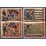 0019 Vaticano Citas Biblicas Serie 4 S Mint N H 1972