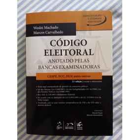Livro Código Eleitoral - Bancas Examinadoras