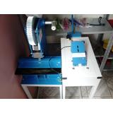 Máquina De Chinelos Compacta Print Usada Completa Com Moldes